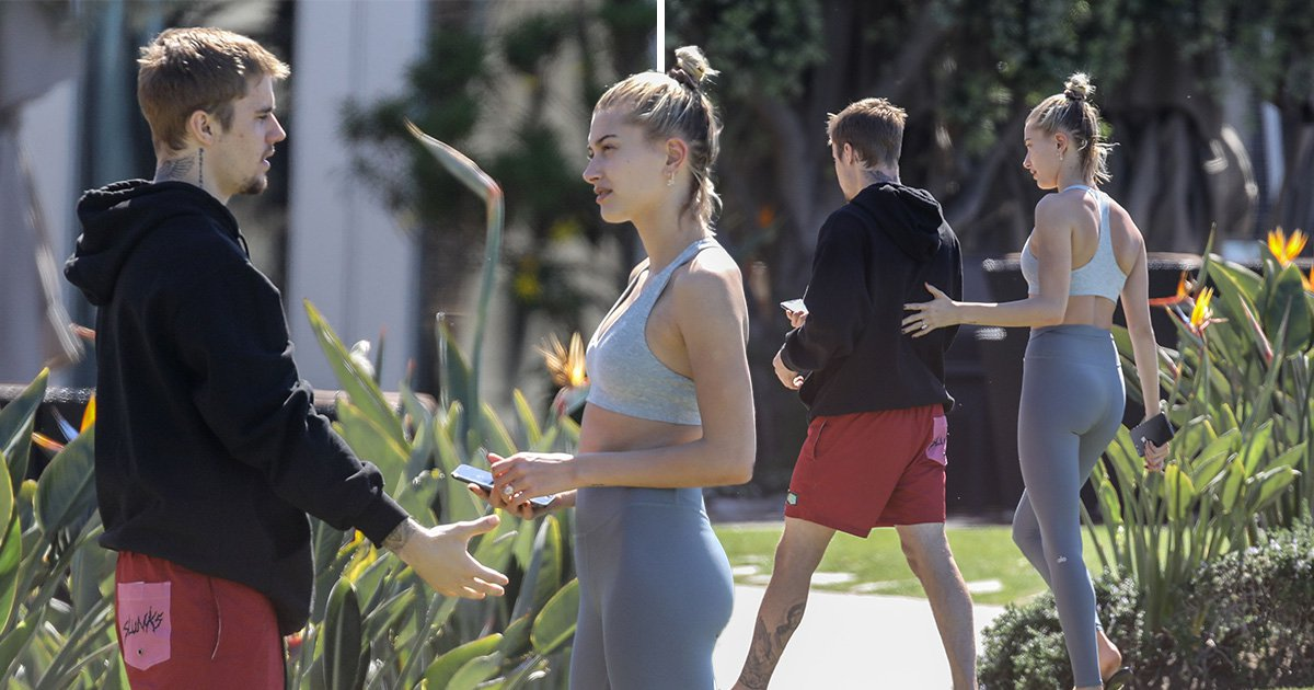 Justin Bieber gets a supportive hand from wife Hailey Baldwin after revealing mental health 'struggle'