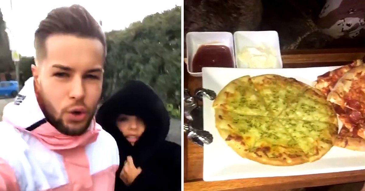 Chris Hughes and Jesy Nelson spend Sunday Netflix and chilling with pizza after confirming relationship
