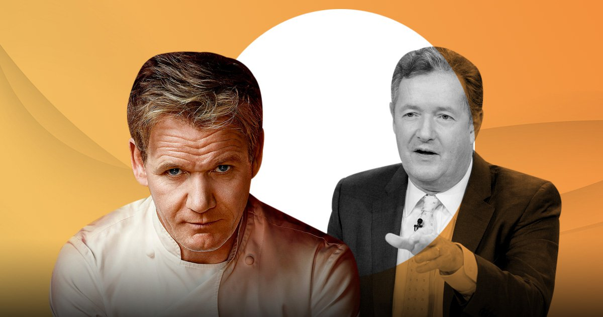 Piers Morgan rages over Gordon Ramsay's 'dramatic vegan conversion' and insists it's all about the money