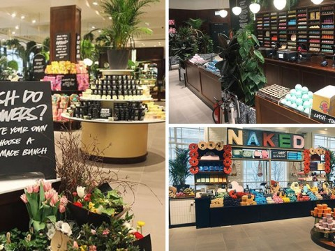 Lush opens biggest store ever with a spa, florist, hair lab and perfume library inside