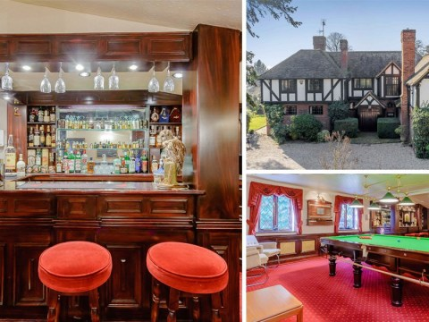 A country home with its own private pub, pool and tennis court is on sale for £2.2 million