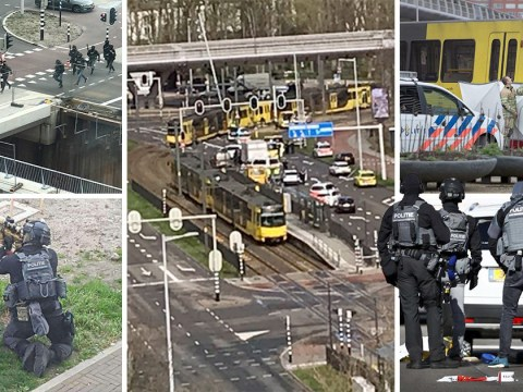 Three dead and nine injured as man on tram 'shoots crowds' in Holland 'terror attack'