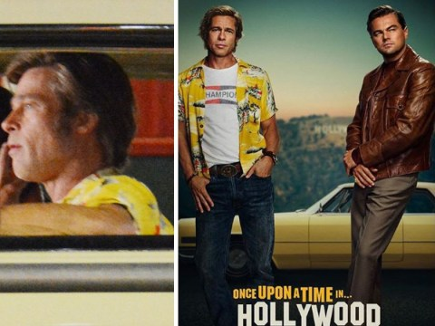 Leonardo DiCaprio actually wanted Brad Pitt's role in Once Upon A Time In Hollywood