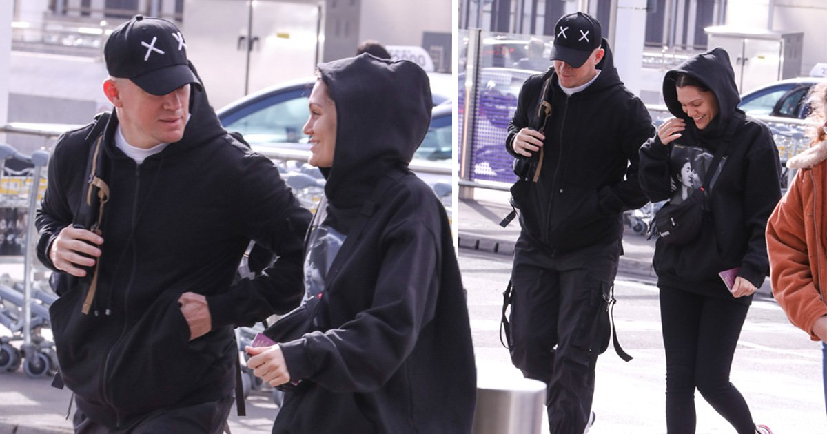 Channing Tatum and Jessie J rack up more air miles as they jet off on another trip