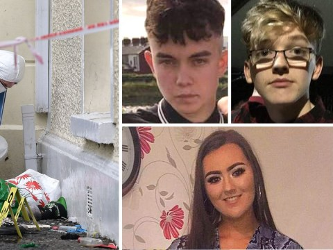 All three teenagers crushed to death at tragic St Patrick's Day party named