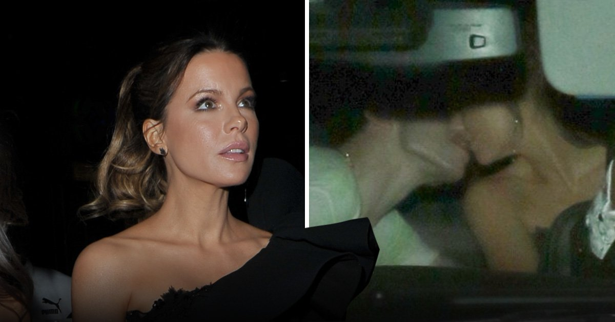 Kate Beckinsale and Pete Davidson can't stop kissing as they leave film premiere together