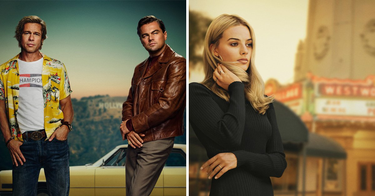Margot Robbie gets her own Once Upon A Time In Hollywood poster but fans think it's 'too photoshopped'