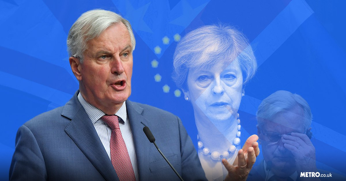 No-deal Brexit 'most likely option' says chief EU negotiator