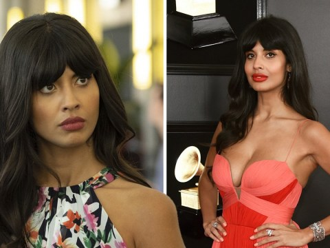 Jameela Jamil accidentally broke the toilet while auditioning for The Good Place
