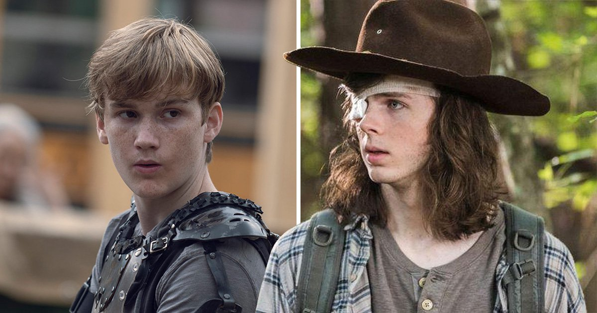 The Walking Dead star Chandler Riggs is all for Henry replacing Carl: 'It's super cool'