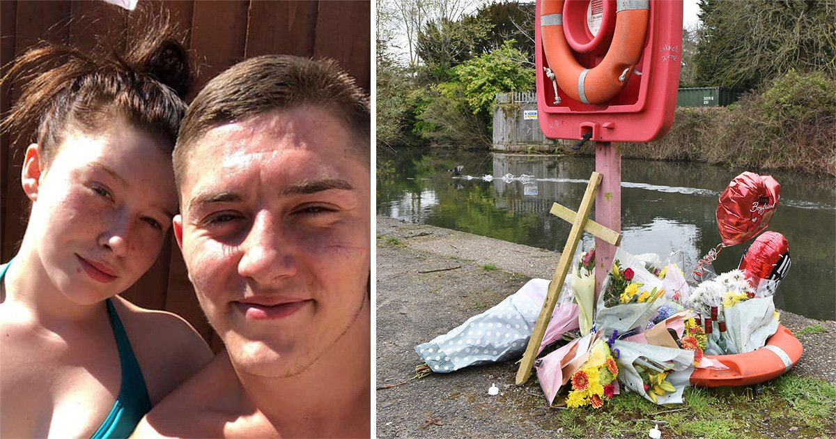 Pictured: Man, 22, found drowned while wearing handcuffs after escaping arrest
