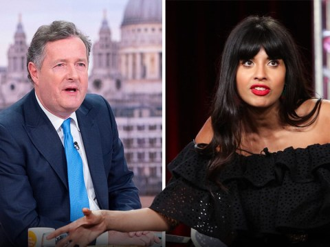 Jameela Jamil brands Piers Morgan 'England's biggest s*** stain' in vicious row