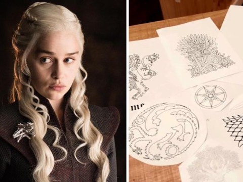 Game Of Thrones tattoo free to those who dare pledge allegiance to Iron Throne