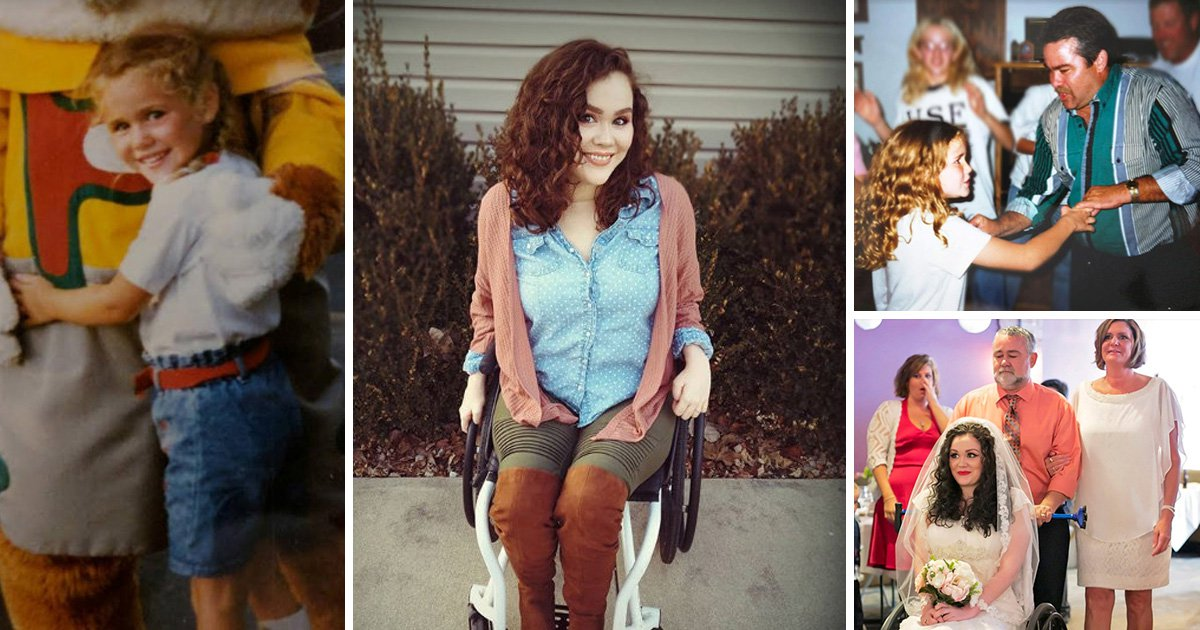 Woman says she's much happier and more confident since becoming disabled