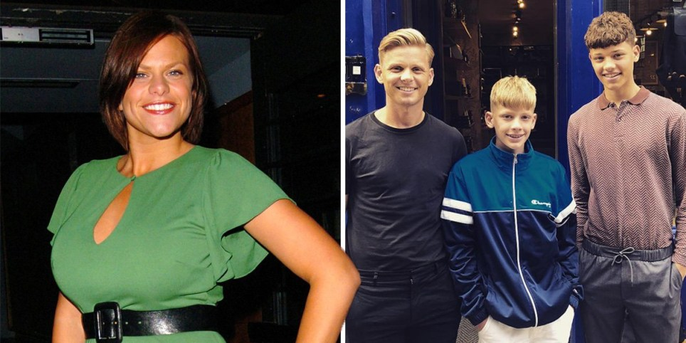Jade Goody, Jeff BRazier and sons