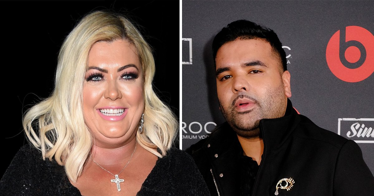 Gemma Collins is releasing a single with Naughty Boy and he thinks she is 'born to sing'