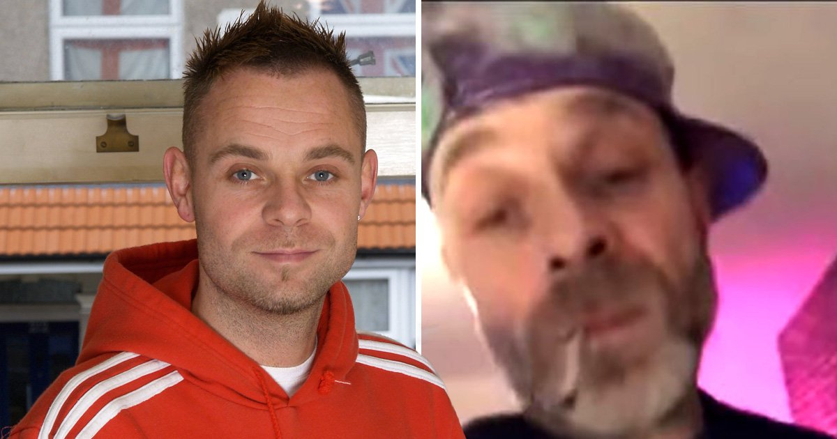 East 17's Brian Harvey shares video of arrest and complains about handcuffs 'cutting into my bone'