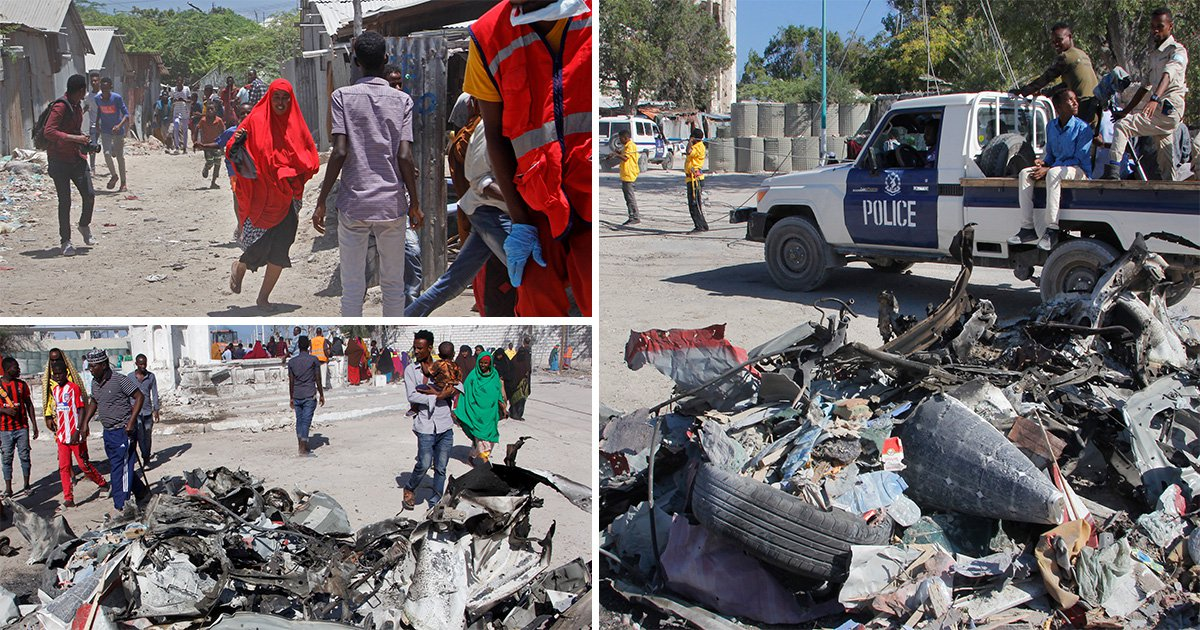 At least 15 dead after al-Shabab gunmen storm government building in Somalia