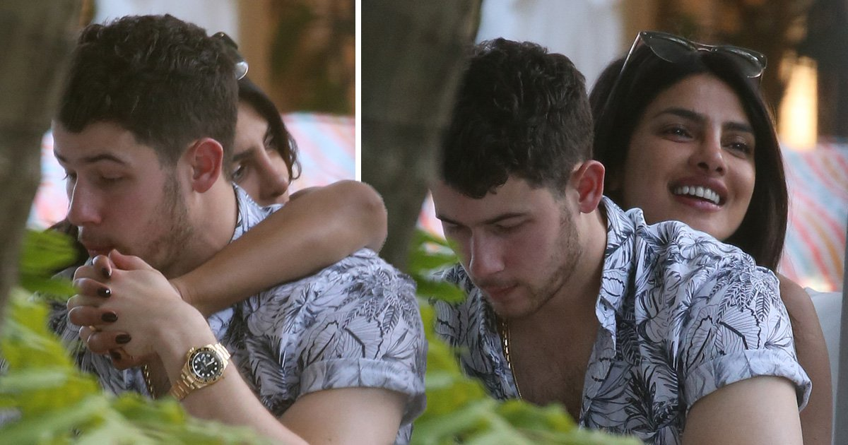 Priyanka Chopra and Nick Jonas still in honeymoon phase as they snuggle up on romantic Miami holiday