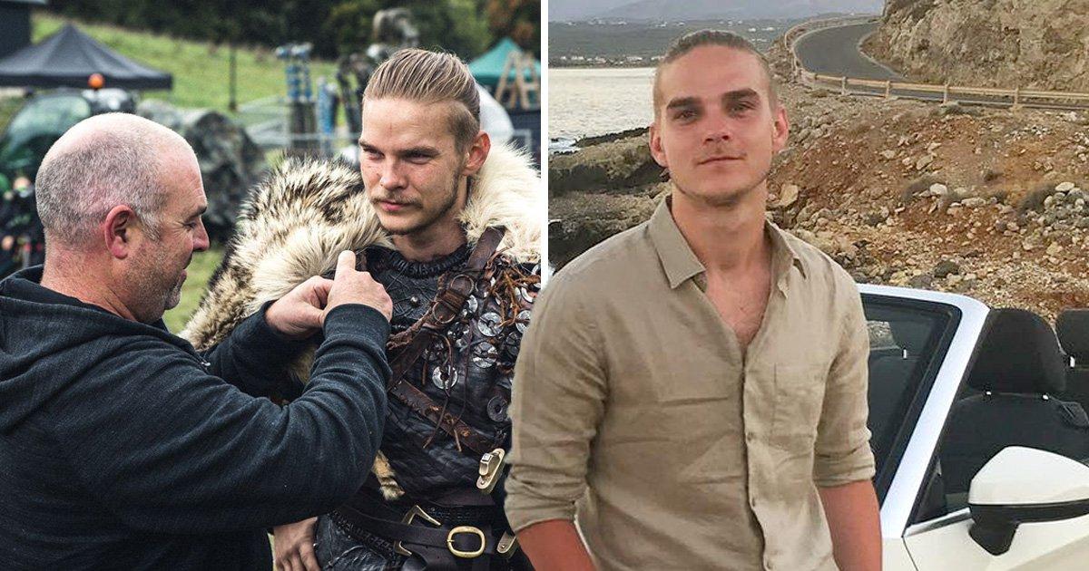 Vikings star Marco Ilsø prepares for battle in behind-the-scenes throwback