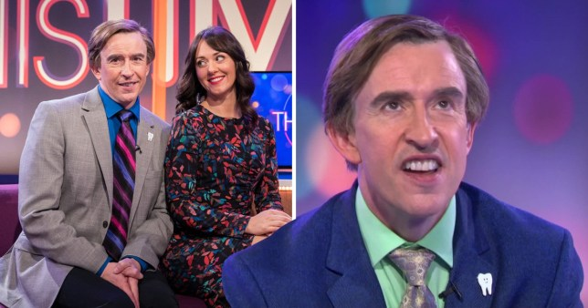 Steve Coogan in This Time With Alan Partridge