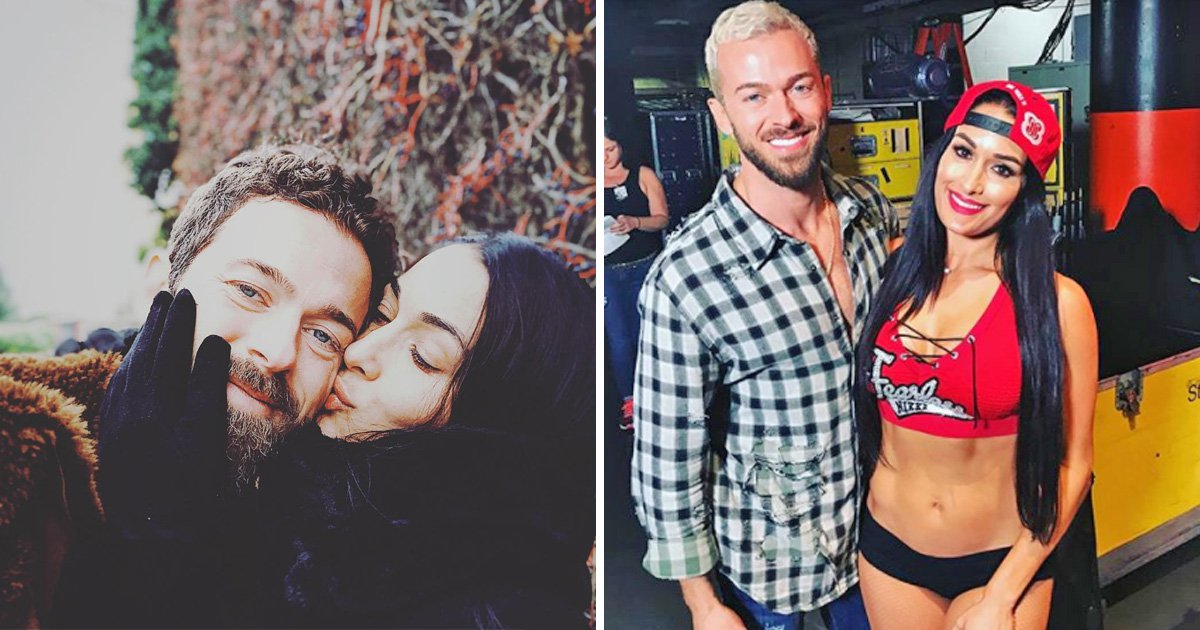Nikki Bella and Artem confirm relationship