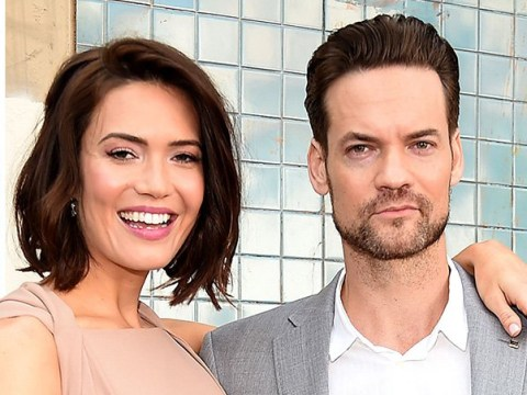 Mandy Moore reunites with Shane West as they share 'walk of fame to remember'