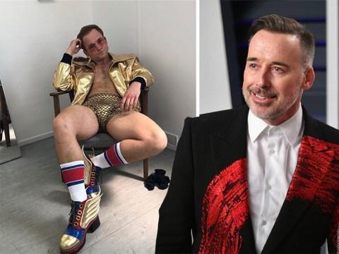 David Furnish jokes about Rocketman star Taron Egerton dressed as Elton John and fans are loving it