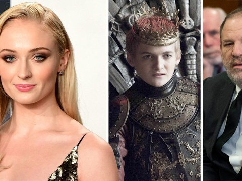 Sophie Turner compares Harvey Weinstein to Game Of Thrones' Joffrey Baratheon