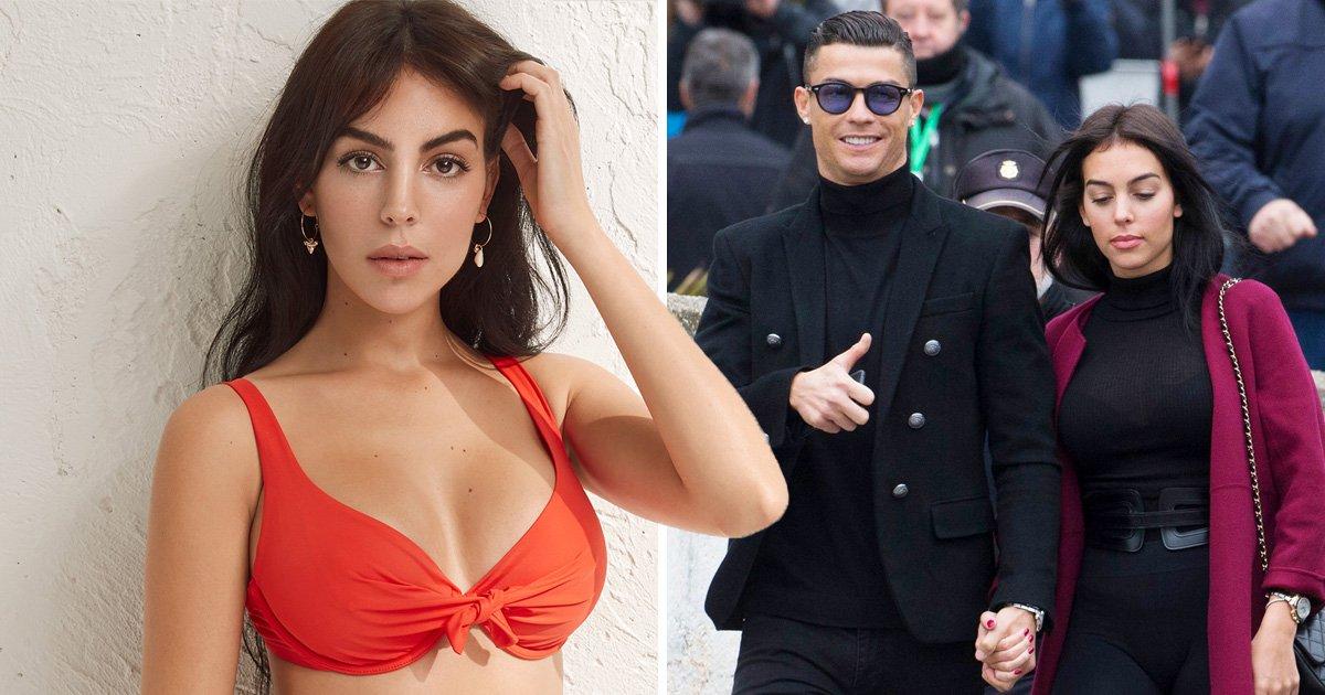 Cristiano Ronaldo's girlfriend Georgina Rodriguez looks all summer ready in swimwear photoshoot