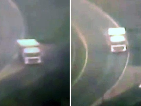 Lorry driver filmed reversing down dual carriageway forcing cars to swerve