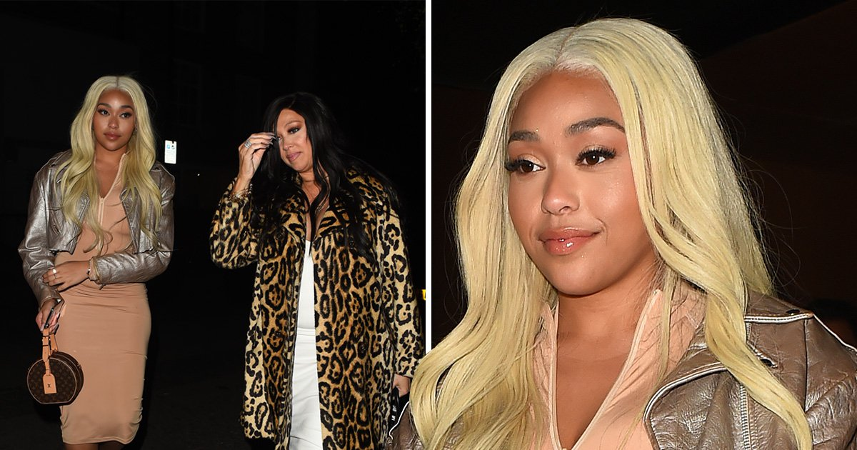 Jordyn Woods looks cheerful in London after Kylie Jenner drama is teased in KUWTK trailer