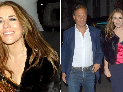 Liz Hurley shows everyone up looking flawless as she leaves club with ex-husband Arun Nayer