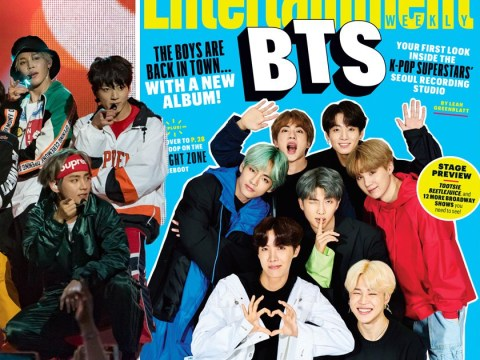BTS talk new album and taking K-pop mainstream as they cover Entertainment Weekly
