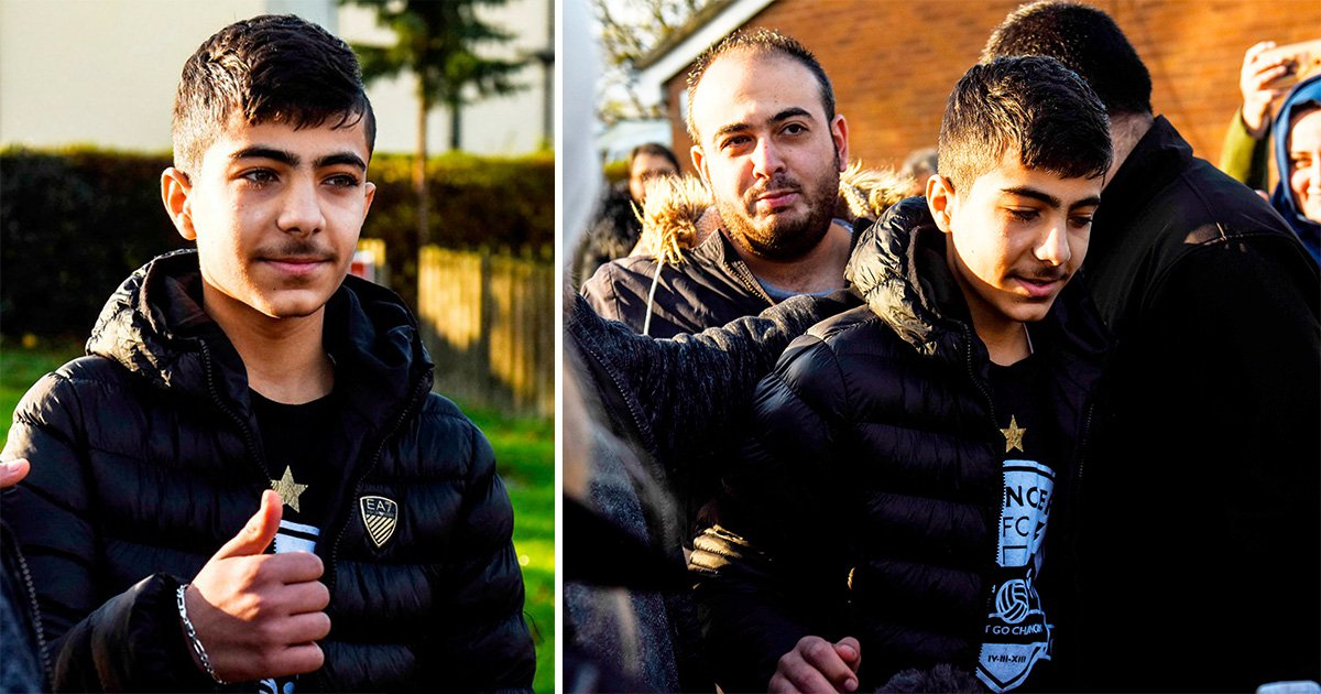 Boy, 16, cautioned 'for waterboarding' Syrian refugee, 15