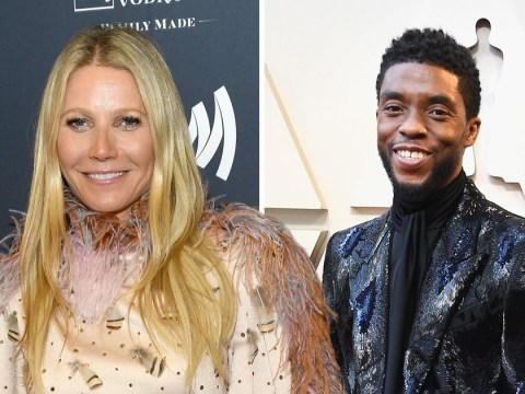 Gwyneth Paltrow thinks Chadwick Boseman is 'so hot' and fangirled hard over him on set of Avengers