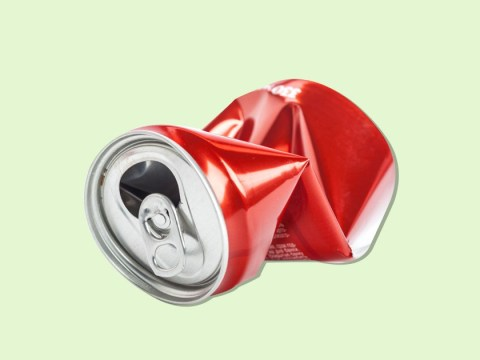 Why you shouldn't crush cans before putting them in the recycling bin
