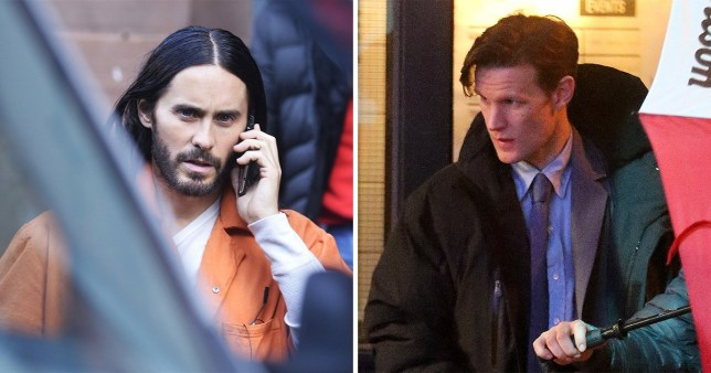 Matt Smith Morbius >> Jared Leto And Matt Smith Spotted Filming In Manchester For
