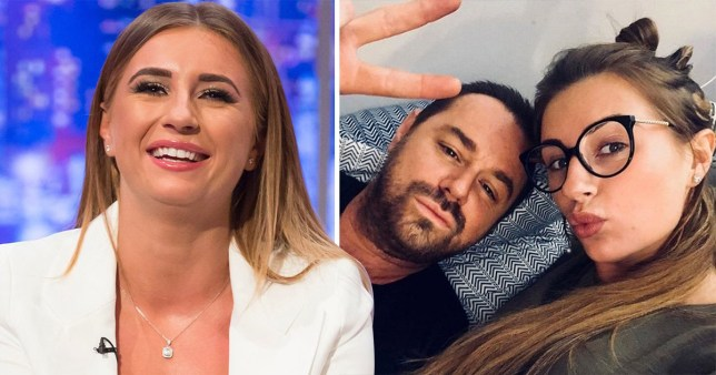Danny Dyer pictured with his daughter Dani Dyer