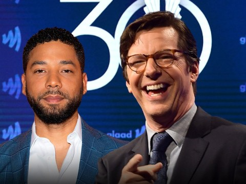Will & Grace's Sean Hayes makes dig at Jussie Smollet during Glaad Awards