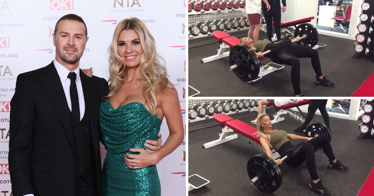 Christine McGuinness says exercise is an 'escape' after admitting she 'feels like a single parent'