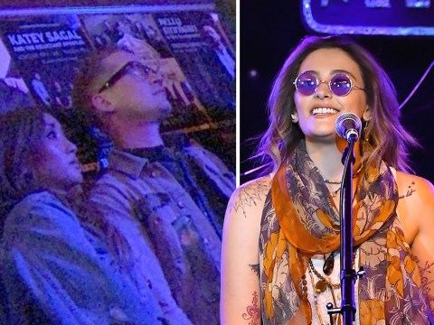 Paris Jackson supported by Macaulay Culkin and Chris Brown at her Soundflowers gig after hospital ordeal