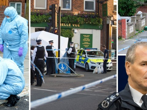Suspect on the run as police launch manhunt after four 'random' stabbings