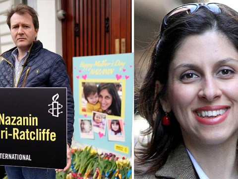 Nazanin Zaghari-Ratcliffe's husband delivers Mother's Day card to Iranian Embassy
