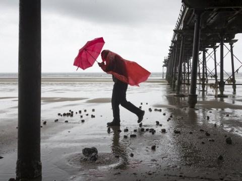 Storm Freya set to lash UK bringing 80mph winds tomorrow