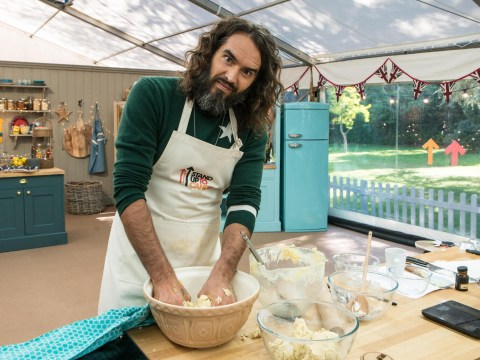 Paul Hollywood awards Russell Brand 'virtual handshake' after Celebrity Bake Off 'vagina biscuit'