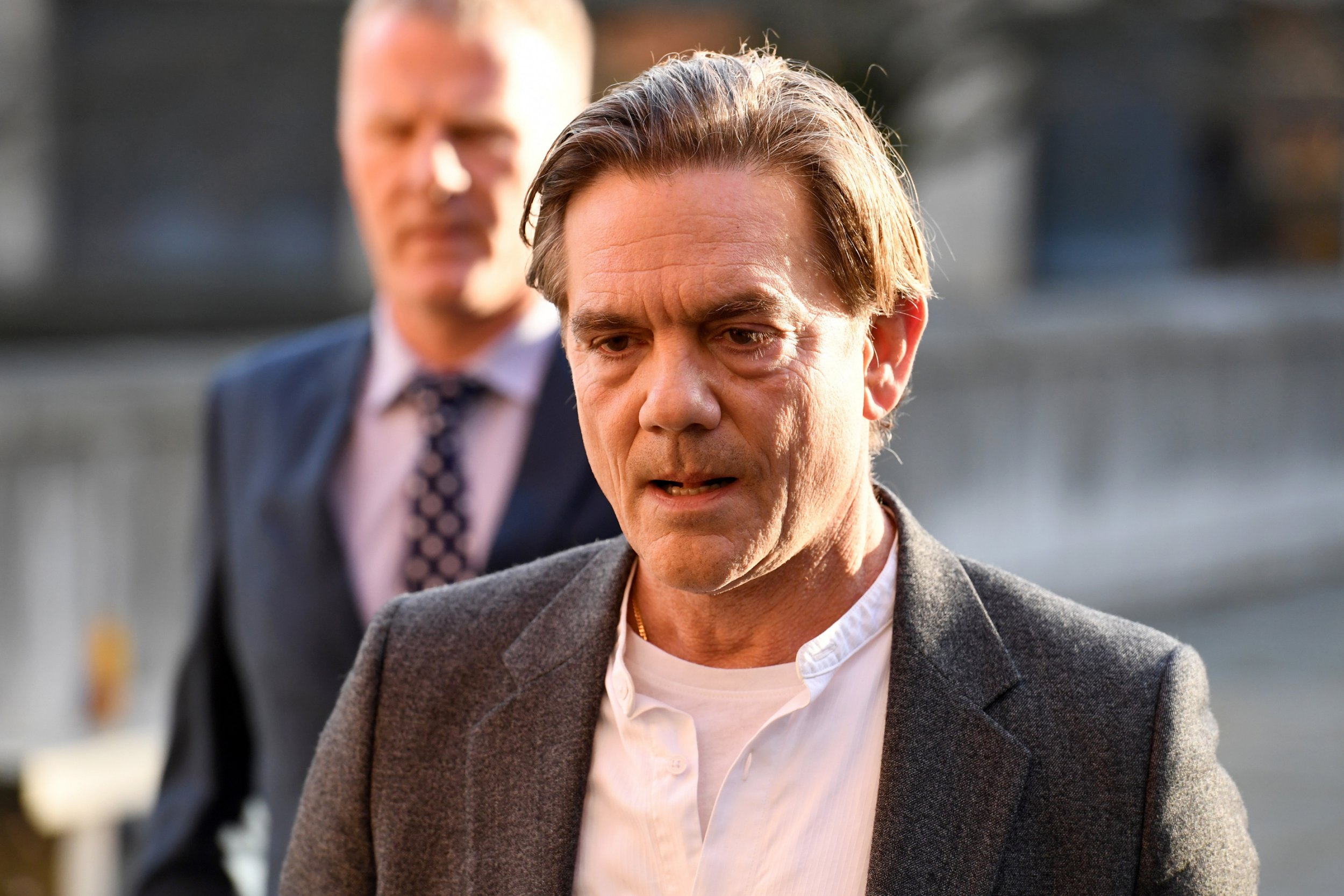 John Michie prepares to return to work as he reveals he can't think about his daughter Louella following her death