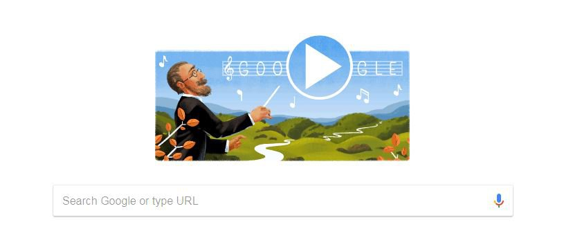 Who is Bedřich Smetana, the Czech composer in today's Google Doodle?
