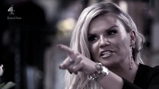 Kerry Katona calls Celebs Go Dating mentors 'toss pots' Credit: Channel 4