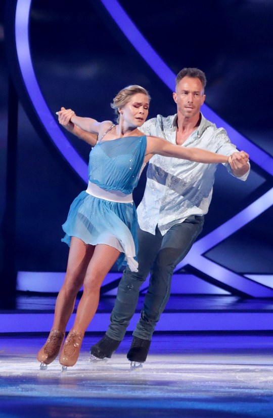 Editorial use only Mandatory Credit: Photo by Matt Frost/ITV/REX (10129022bm) James Jordan and Alexandra Schauman 'Dancing on Ice' TV show, Series 11, Episode 9, Hertfordshire, UK - 03 Mar 2019